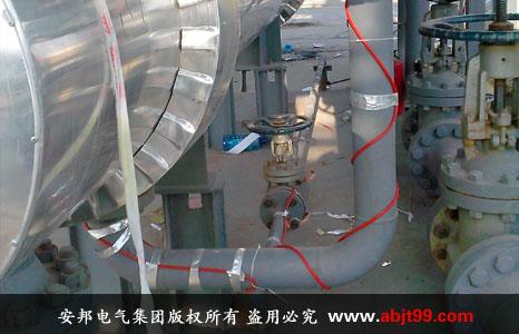 管道电伴热保温施工安装图(三)